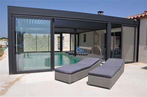 construire sa pergola bioclimatique 1000 id 233 es sur le th 232 me toiture veranda sur pergola bioclimatique toit en verre et