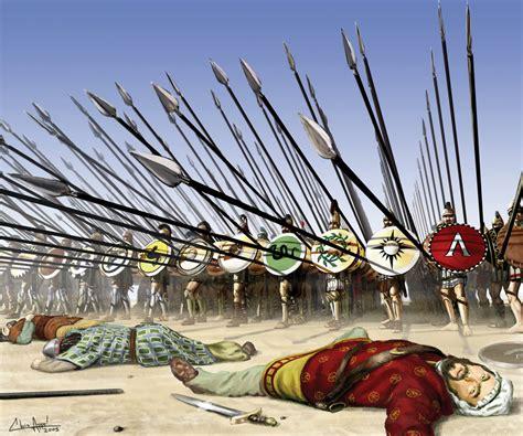 spartan war spartan tactic phalanx world war stories