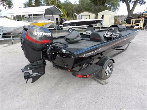 Used Aluminum Ranger Bass Boats For Sale by 2016 New Ranger Rt188 Aluminum Fishing Boat For Sale