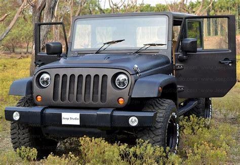 mahindra jeep thar 2017 mahindra thar modified to look like a jeep wrangler