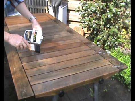 skagerak teak houten tafel reinigen youtube