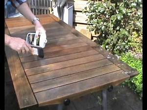 vetvlek uit houten tafel verwijderen