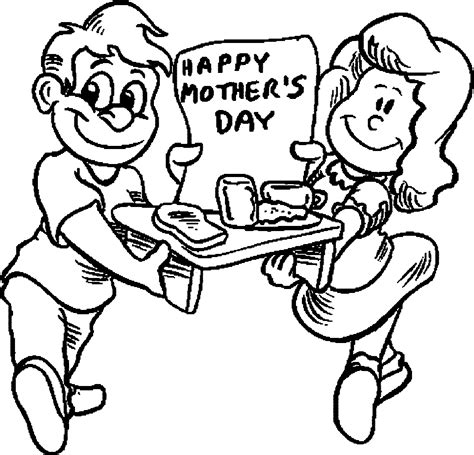 happy mothers day kids coloring page wecoloringpagecom