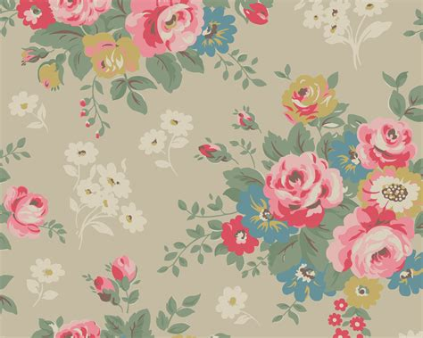 Wallpaper Cath Kidston by The Ardent Sparrow A Desktop Spruce Up