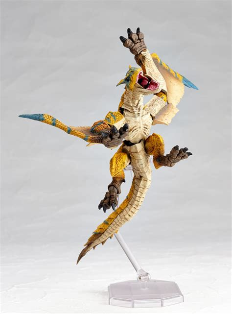 monster hunter vulcanlog tigrex action figure  mighty