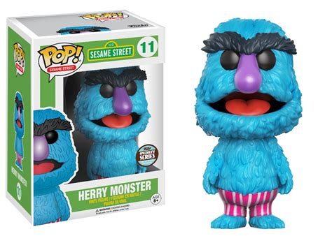 Upper Deck Customer Service by Herry Monster Sesame Street Funko Pop Specialty Series