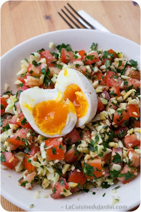 salade composee la cuisine du jardin
