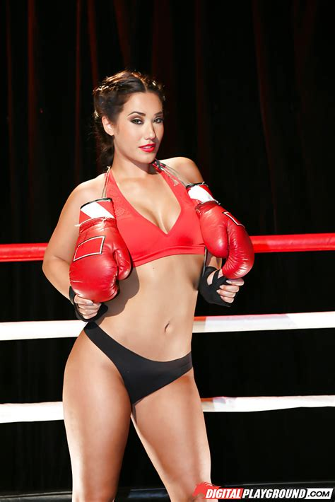 Porn Stars Boxing Topless