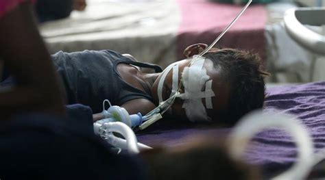 Gorakhpur Hospital Deaths Congress Demands Pm Modi's