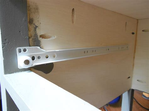 how to replace cabinet drawers how to install drawer slides