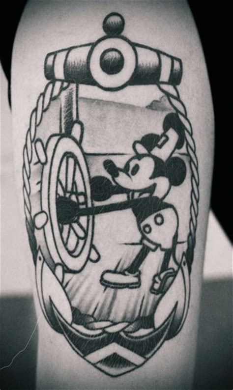 Steamboat Willie Tattoo by Steamboat Willie Tattoo Tattoos Pinterest Steamboat