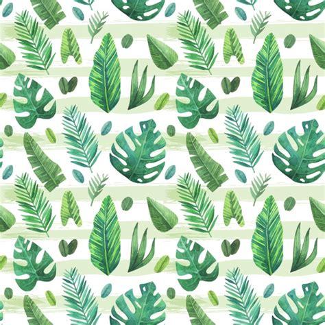 fondo con patr 243 n de hojas tropicales descargar vectores gratis