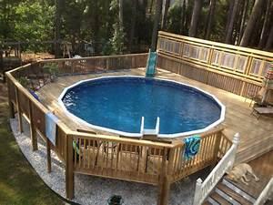 Pool Dach Rund : this is a customer photo of a barbados 52 24 39 round pool ~ Watch28wear.com Haus und Dekorationen