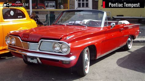 Full List Of Pontiac Car Models