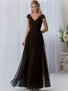 long black chiffon bridesmaid dresses naf dresses With black long dresses for wedding
