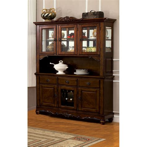 Traditional Dining Hutch Buffet