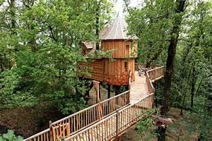 Constructeur Cabane Dans Les Arbres : cabane spa ch teau milandes nidperch constructeur de cabane ~ Dallasstarsshop.com Idées de Décoration