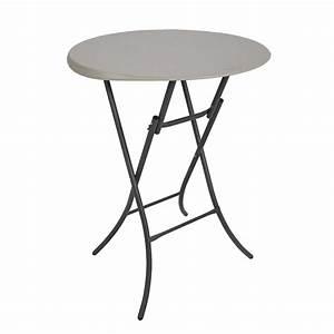 Table 4 Personnes : table pliante mange debout dia 84cm 2 4 personnes ~ Melissatoandfro.com Idées de Décoration