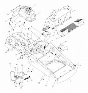Husqvarna Z4824 Parts List And Diagram