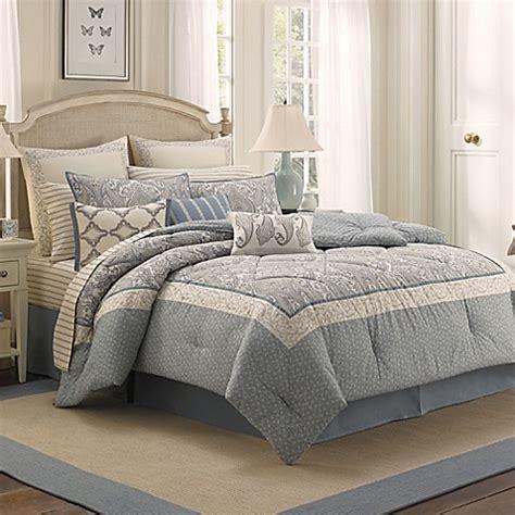 Laura Ashley® Whitfield Comforter Set  Bed Bath & Beyond