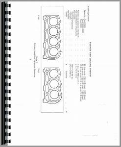 Ford 4000 Tractor Data Service Manual