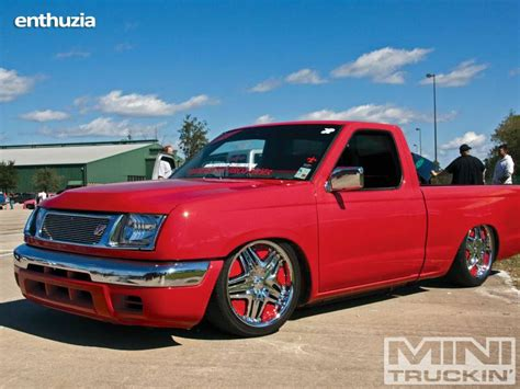 bagged nissan frontier 1998 nissan bagged show truck frontier for sale humble