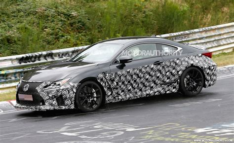 2019 Lexus Rc F Spy Shots