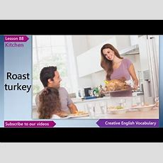 Basic English Vocabulary Lesson 88  Kitchen Vocabulary  Learn Free English Lessons, Esl