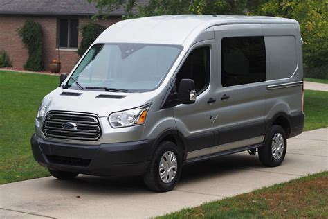 ford transit  medium roof van review autoguide
