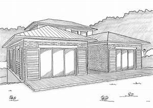 les plans de maison d39ooreka With superior maison en forme de u 1 plan maison traditionnelle avec patio ooreka
