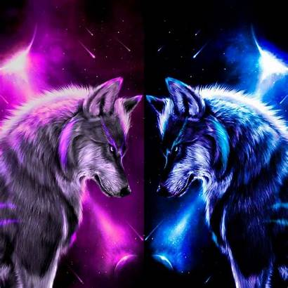 Wolves Wolf Wallpapers Purple Backgrounds Zedge Moon