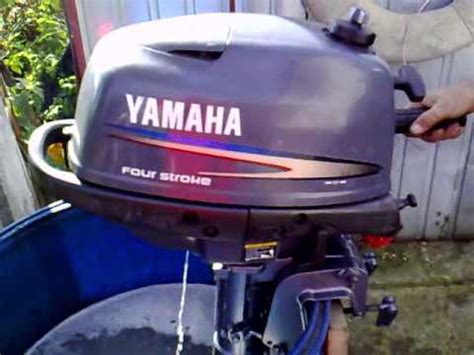 yamaha 4 hp outboard motor 2006r four stroke 4 suw
