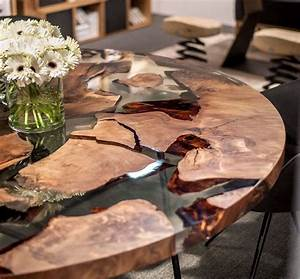 Earth Wood and Resin Table » Gadget Flow