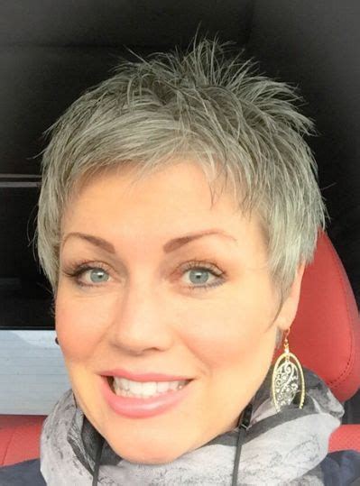 Pixie Hairstyles For Grey Hair by 122 Best Grey Hair Images On Hair Cut