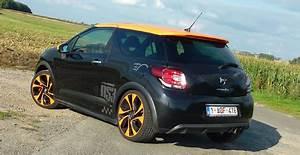 Ds3 Noir Et Orange : essai citro n ds3 racing en tenue de sport 1 2 le blog auto ~ Gottalentnigeria.com Avis de Voitures