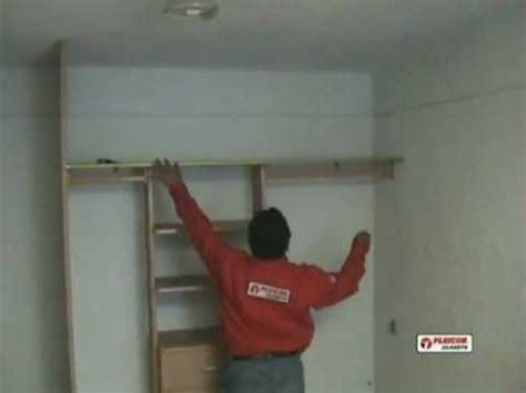 como instalar un closet playcon parte 2