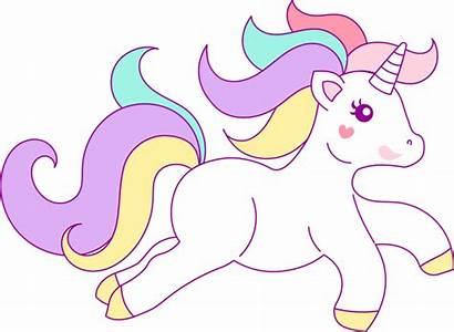 Clipart Unicorn Clip Hand Drawn Unicorns Pretty