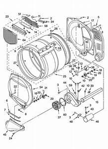 Bulkhead Parts Diagram  U0026 Parts List For Model 11076942501