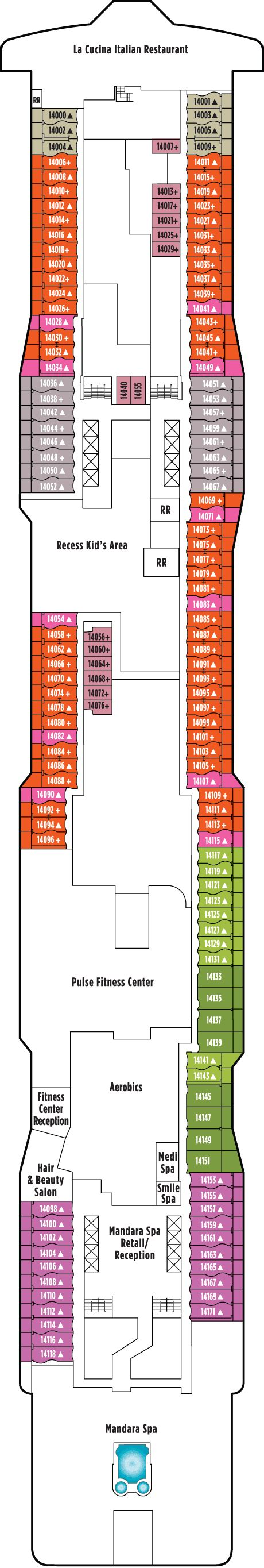 norwegian epic deck plan