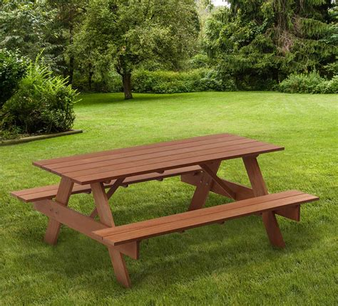 adult pressure treated picnic tables outdoor essentials