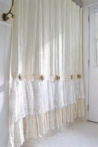 Linen Shower Curtain Image