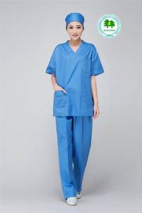Free Shipping OEM scrub sets uniforme medico medical V ...