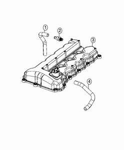 2014 Dodge Dart Hose  Crankcase Vent