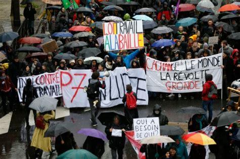 mobilisation en nette hausse contre la loi travail dans une ambiance parfois tendue le point