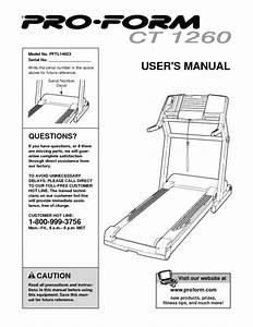 Ct 1260 Pftl14923 Manuals