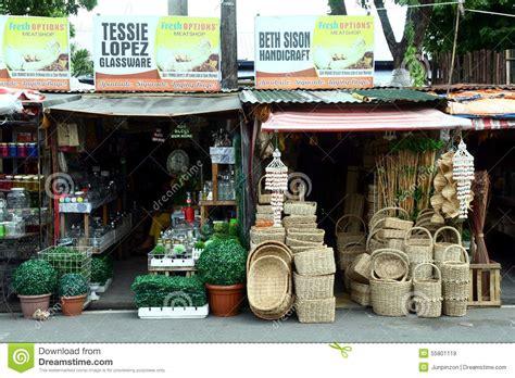 Flea Market Stores Near Dapitan Arcade In Manila