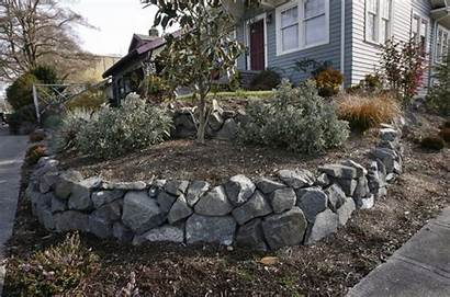 Retaining Wall Walls Boulder Dry Stack Seattle