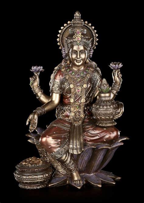 lakshmi figur indische goetter statue dekofigur buddha