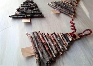 Bricolage Bois Facile : bricolage no l 18 id es en mat riaux naturels pour vous ~ Melissatoandfro.com Idées de Décoration