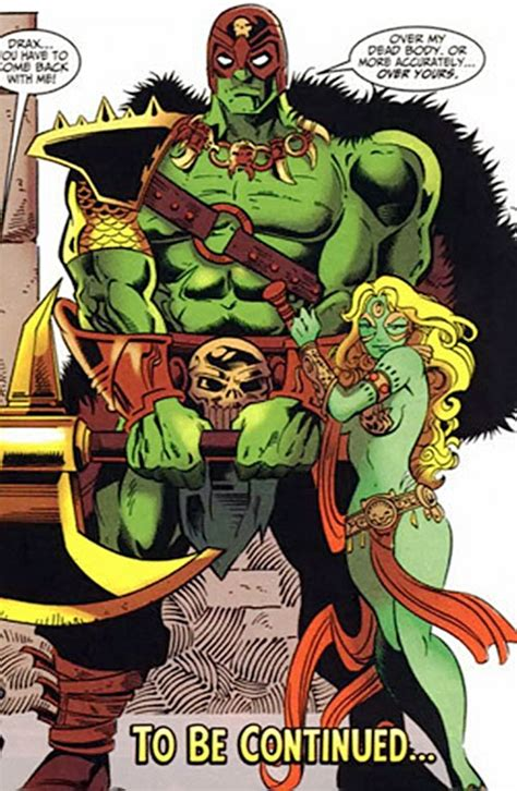 Drax the Destroyer - Marvel Comics - Infinity Watch ...
